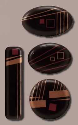 Schoko-Ornament, 4-fach sortiert