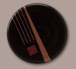Schoko-Qrnament, rund