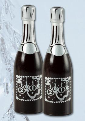 Schoko-Sektflasche