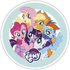 Waffel-Aufleger My Little Pony, 4-fach sortiert, 21cm, 12 Stück