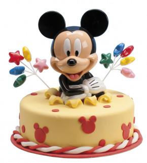 Mickey Mouse Spardose mit Drehverschluss, Kunststoff, im Display