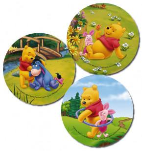 Waffel-Aufleger Winnie Pooh, 3-fach sortiert, 14,5cm, 27 Stück
