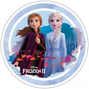 Waffel-Aufleger Frozen Eiskönigin, 4-fach sortiert, 21cm, 12 Stück