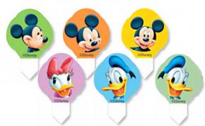 Waffel-Einstecker Disney, 10-fach sortiert, ideal für Eisbecher und Stückchen, 600 Stück